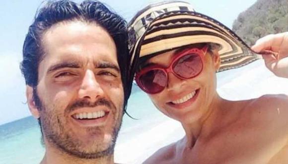 Lorena Meritano y Ernesto Calzadilla fueron una de las parejas más famosas, pero su matrimonio acabó mal (Foto Facebook)