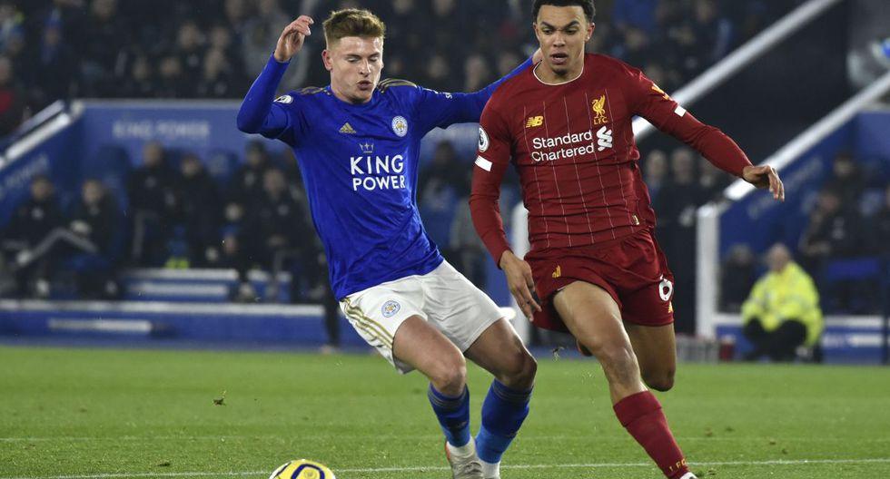 Liverpool vs. Leicester City por la Premier League. (Foto: AP)