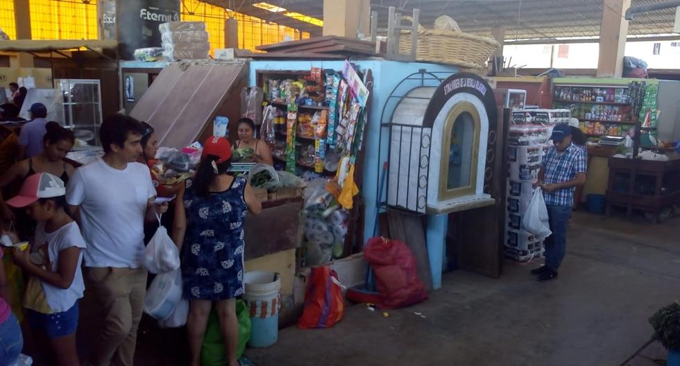 Ciudadanos ya no podrán ingresar sin mascarillas a los mercados de Chiclayo para prevenir la propagación del Covid-19 en la ciudad. (Foto: Municipio de Chiclayo)