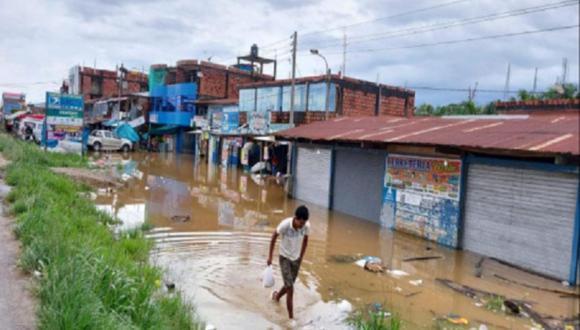 Senamhi advirtió sobre las fuertes lluvias que iban a registrarse desde el 15 hasta el 16 de febrero en la Selva peruana (Foto: Indeci)