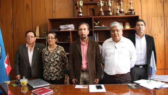 Nuevos directivos de Universidad Pedro Ruiz Gallo asumen cargos