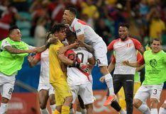 El abrazo de siempre, el abrazo es contigo, Perú: la crónica del triunfazo ante Uruguay en la Copa del 2019