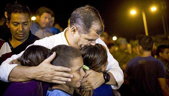 Rafael Correa: Terremoto en Ecuador dejó 41 huérfanos