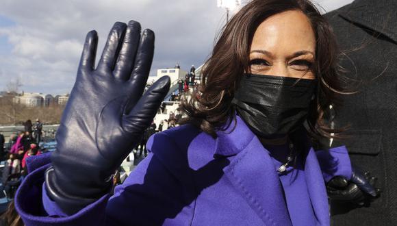 Kamala Harris es la primera mujer vicepresidenta en la historia de Estados Unidos. (Foto: JONATHAN ERNST / POOL / AFP).