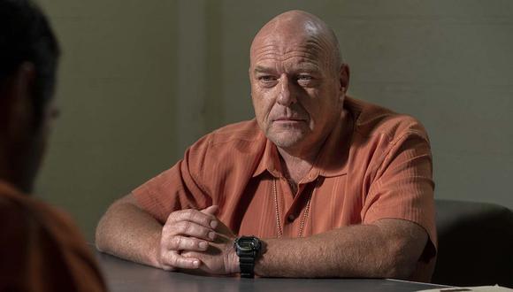 """Han pasado casi ocho años desde que vimos por última vez al personaje Hank Schrader (Dean Norris) en televisión. Él volvió en la serie """"Better Call Saul"""" 5x03. Foto: AMC."""