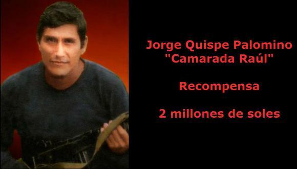 Comando Conjunto de las Fuerzas Armadas confirmó la muerte de Jorge Quispa Palomino, alias 'Raúl'. (Mininter)