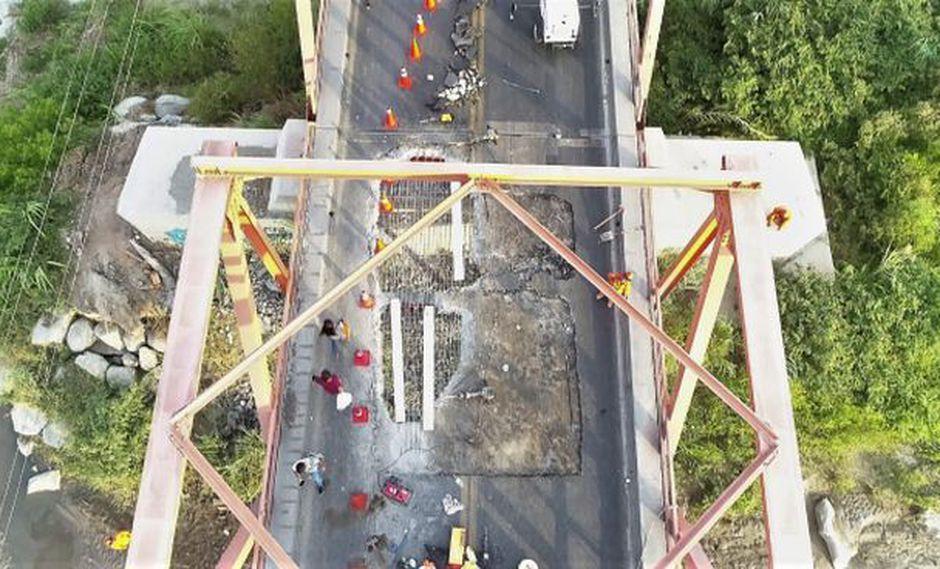 Lambayeque: tránsito en puente Reque estará interrumpido 15 días
