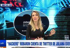 """Juliana Oxenford indignada tras ser hackeada por segunda vez en Twitter: """"No me van a silenciar"""""""
