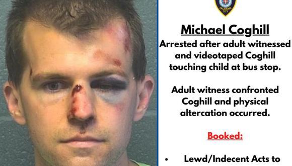 Michael Coghill se encuentra detenido en Oklahoma y esperan que aparezcan más víctimas. (Foto: Twitter @OKCPD)