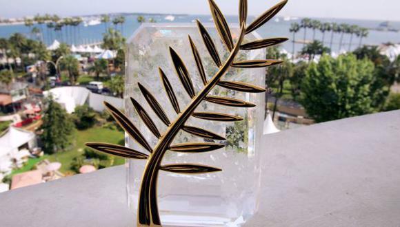 La Palma de Oro, el ansiado premio que cada año corona a la mejor película de la competición oficial de Cannes. (Foto: AFP / archivo)