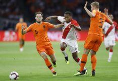 Perú perdió 2-1 ante Holanda en Ámsterdam por amistoso internacional