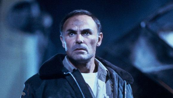 "John Saxon en ""Pesadilla en Elm Street"". (Foto: New Line Cinema)"