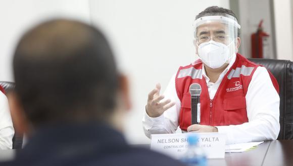 El organismo que dirige el contralor Nelson Shack detectó irregularidades en el proceso de vacunación contra el COVID-19. (Foto: archivo/  Andina)