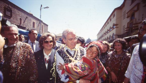 Javier Pérez de Cuéllar, el político peruano que fue clave para buscar la paz en la Guerra de las Malvinas. Así lo recordamos:  un conciliador en el Perú y el mundo. FOTO: Archivo Histórico El Comercio.