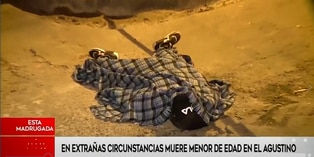 El Agustino: Menor de edad muere en extrañas circunstancias