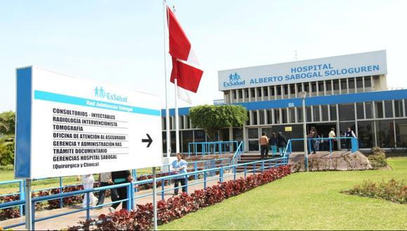Hospital Sabogal de EsSalud brindó atención médica a pacientes con COVID-19. (Foto: EsSalud)