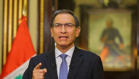 Presidente Martín Vizcarra se pronunció respecto a la migración venezolana en la región. (Foto: Referencial/Andina)