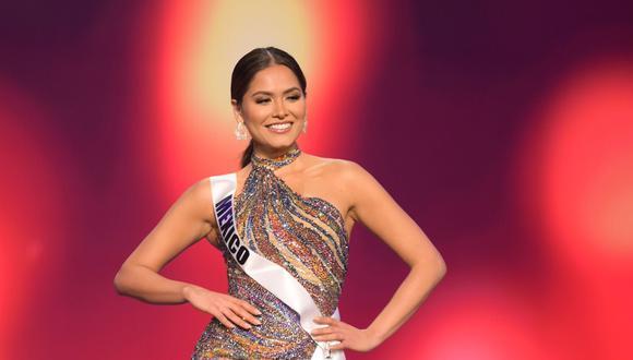 Miss México 2020, Andrea Meza. (Foto: EFE/ Benjamin Askinas / Miss Universe Org.)