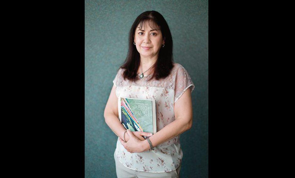 María Teresa Grillo es magíster en Literatura Peruana y Latinoamericana por la Universidad de San Marcos[Foto: Lino Chipana]