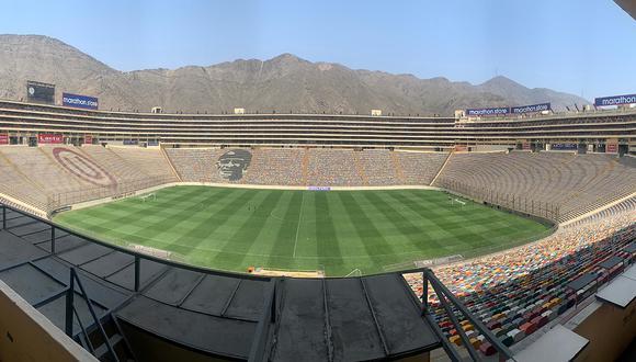 El estadio Monumental de Ate está listo para la gran final de América.  (Foto: Archivo GEC)