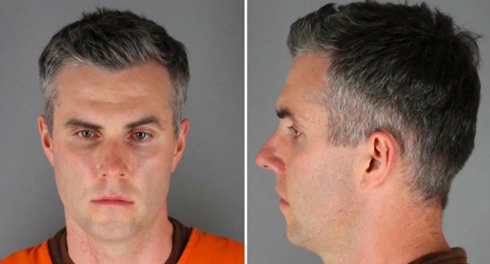 Thomas Lane está involucrado en el asesinato de George Floyd en Minneapolis, Estados Unidos. (Foto: Condado de Hennepin / Reuters).