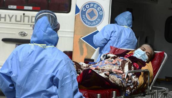 Las autoridades sanitarias de Honduras confirmaron a inicios de junio pasado el primer caso de mucormicosis en un hombre, de 58 años, recuperado de covid-19. (Foto Referencial: AFP / Orlando SIERRA).