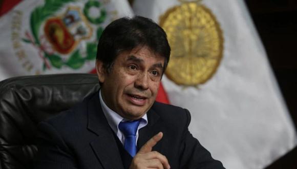 Fiscal supremo Tomas Gálvez es investigado por sus presuntos vínculos con Los Cuellos Blancos del Puerto. (Foto: Poder Judicial)
