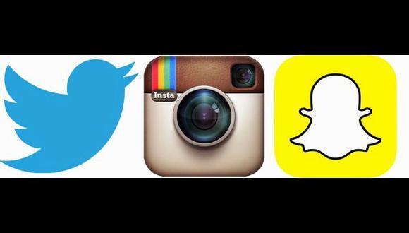 Instagram, Twitter y Snapchat, las redes preferidas en EE.UU.