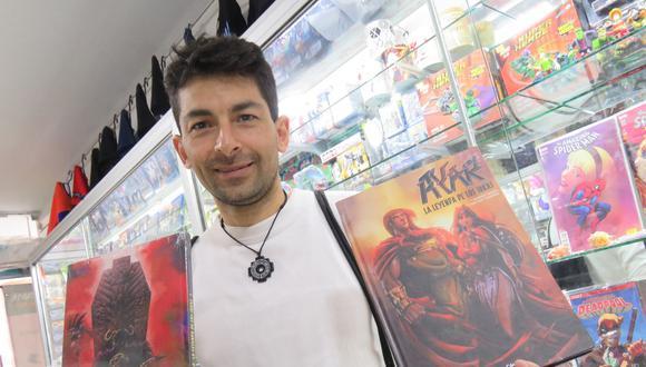 En Ayar, Barriga une su amor por los cómics y por la cultura peruana. (Archivo personal)