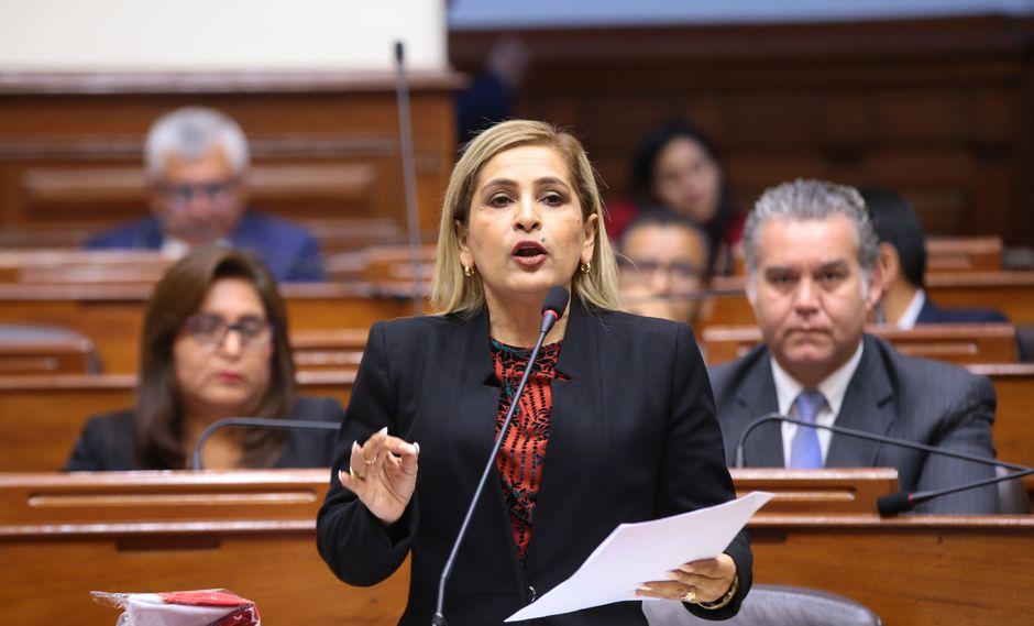 Maritza García (Foto: Congreso)