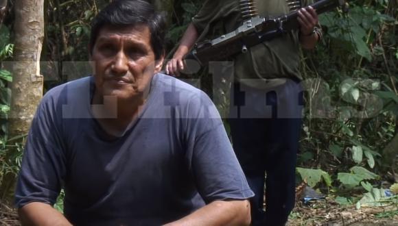En el 2010, el periodista peruano Fernando Lucena entrevistó al terrorista ´Raul´ en el Vraem para un documental. (Foto:  captura de YouTube)