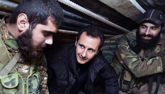 En Estados Unidos aseguran que Bashar al Asad ordenó el uso de gas cloro en la batalla de Idlib. (Reuters).