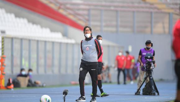 Ángel Comizzo se refirió al episodio con los hinchas de Universitario de Deportes. (Foto: Liga de Fútbol Profesional)