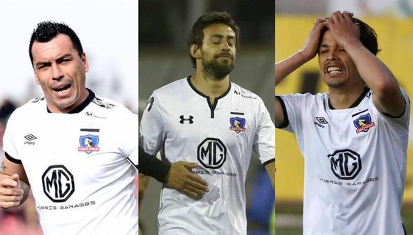 Luego de salvarse del descenso, varios jugadores importantes dejarán Colo Colo. En la lista de negra aparecen los nombres de Esteban Paredes, Jorge Valdivia y Matías Fernández. (Fotos: AFP/Twitter)