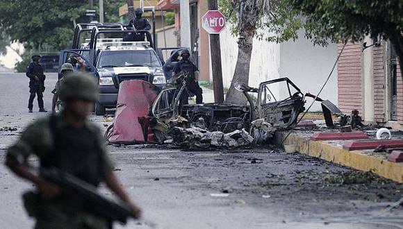 México: emboscan vehículo militar y matan a cuatro soldados