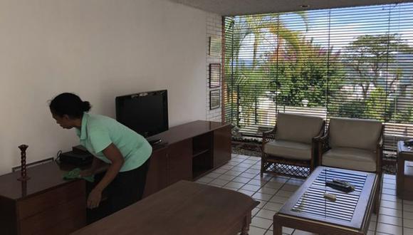 Isabel gana entre US$5 y US$7 mensuales y trabaja 10 días al mes. El salario mínimo en Venezuela actualmente es el equivalente a US$2 mensuales. (Getty Images vía BBC)