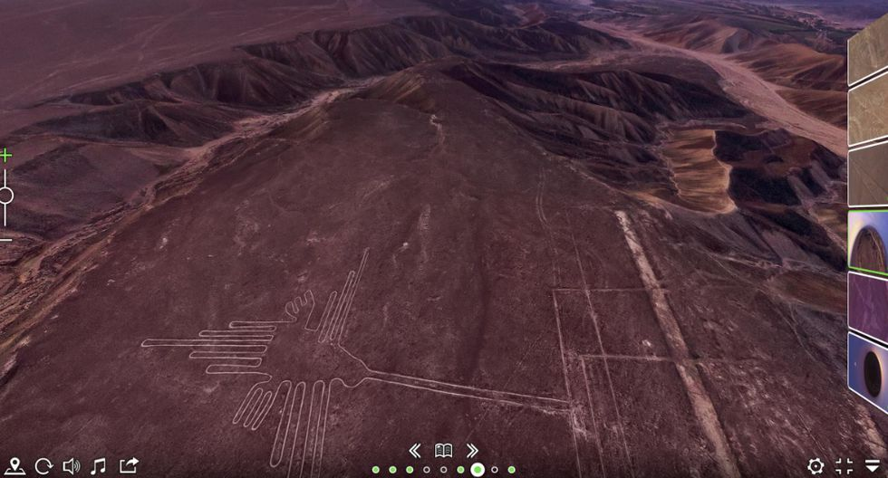 10 mil líneas. Descubiertas en 1939, las líneas de Nazca son Patrimonio Mundial de la Unesco desde 1939. En la página airpano.com se pueden ver en 3D.