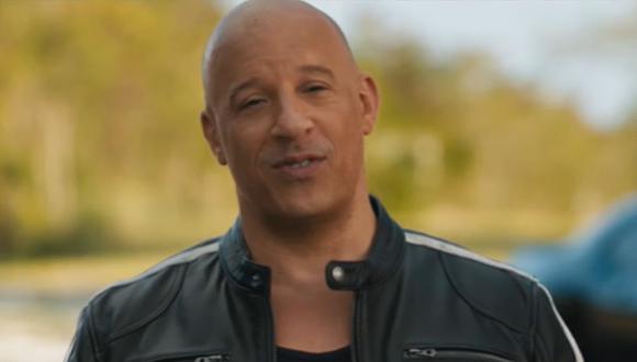 Vin Diesel es uno de los actores más famosos de Hollywood (Foto: Captura de Youtube)