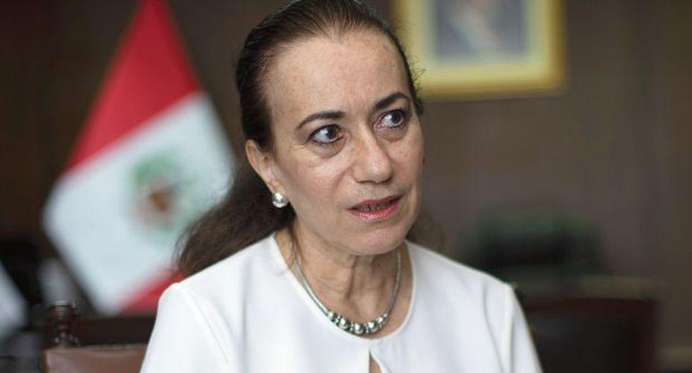 La ministra de Justicia indica que pondrá énfasis en los temas de derechos humanos y en las cárceles productivas. (Foto: Anthony Niño de Guzmán/ GEC)