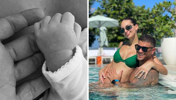 Yaco Eskenazi y Natalie Vértiz tuvieron este sábado a su segundo bebe llamado Leo. (Foto: Instagram @msperu / @yacoturco).