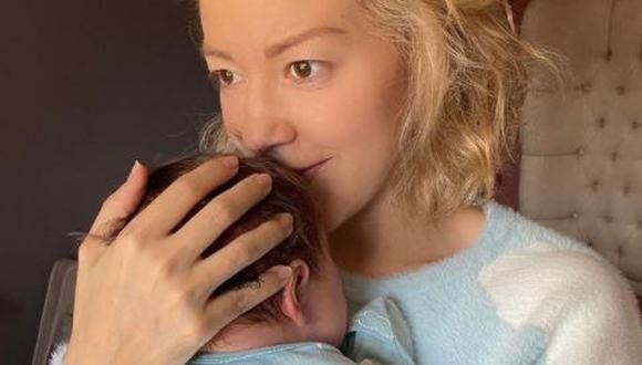 Fernanda Castillo celebra sus 39 años al lado de su novio y su primer hijo (Foto: Instagram)