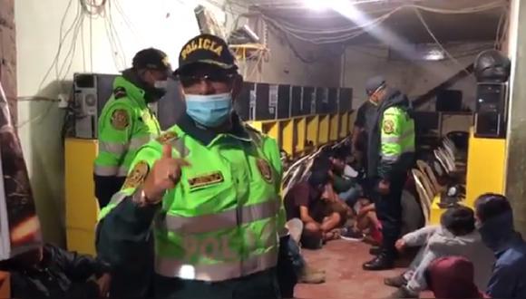 Más de 50 personas fueron intervenidas incumpliendo el estado de emergencia (Foto: Municipalidad Huancavelica).