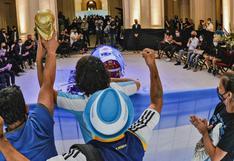 Maradona y las pocas personalidades que fueron veladas en la Casa Rosada