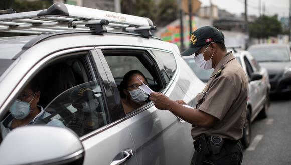 Los carros particulares podrán volver a circular libremente este domingo. (Foto: Anthony Niño de Guzmán)
