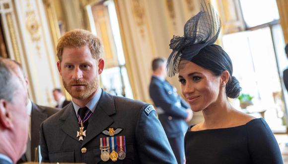 Los duques de Sussex visitaron Irlanda. (Foto: AFP/Chris J. Ratcliffe)
