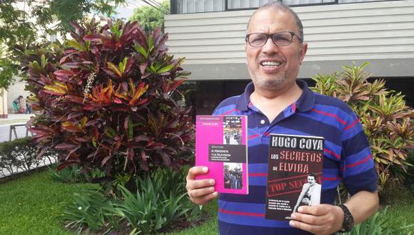 """Hugo Coya: """"El periodismo es la esencia de mis relatos"""""""