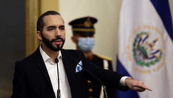 El presidente de El Salvador Nayib Bukele. (Foto: MARVIN RECINOS / AFP).