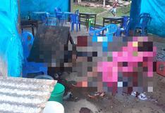 Vraem: al menos 14 personas fueron asesinadas por miembros de Sendero Luminoso