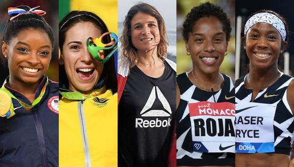 Las cinco mejores deportistas latinoamericanas que estarán en Tokio 2020.
