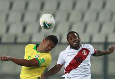 Perú cayó ante Brasil con polémico arbitraje por Eliminatorias Qatar 2022